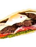 Burger sub Royalty Free Stock Photography