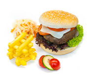Burger Royalty Free Stock Photos