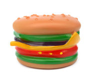 Burger toy Royalty Free Stock Photography