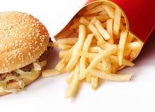 Burger und Fischrogen lizenzfreies stockbild