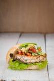Burger Vegan Στοκ Φωτογραφία