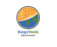 Burger World Logo Stock Images
