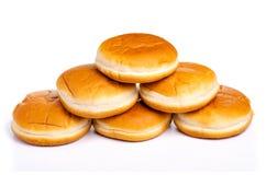 Burgerbrötchennahrung geschmackvoll lizenzfreies stockbild