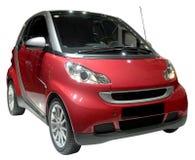 Burgerlijke geïsoleerdea auto Stock Afbeelding