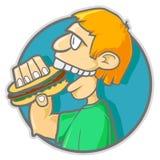 Burgerman Royalty Free Stock Image