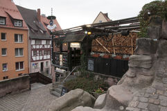 Burgermeister-Restaurant in Nürnberg Lizenzfreie Stockfotos