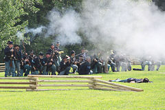 Burgeroorlog Royalty-vrije Stock Fotografie