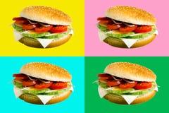 Burgerquad Lizenzfreie Stockfotografie