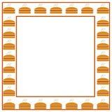 Burgerrahmen Lizenzfreie Stockfotos