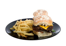 Burgers Stock Images