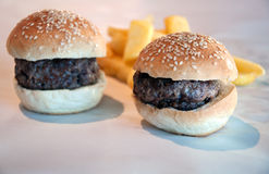Burgers Royalty Free Stock Photography