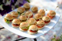 Burgers Royalty Free Stock Photos