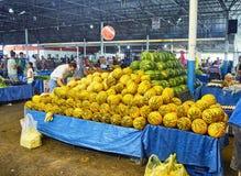 Burgers die in Bodrum-markt, Pazar, de stad in winkelen bij Mugla, T Royalty-vrije Stock Afbeelding
