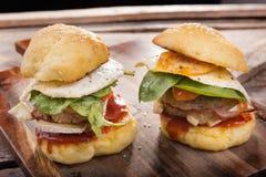 Burgers Stock Image