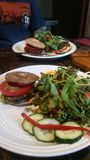 Burgers Vegan Στοκ Φωτογραφίες