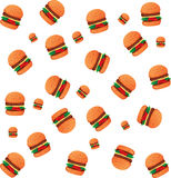 Burgers Wallpaper Royalty Free Stock Images