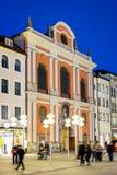 Burgersaalkirche Monaco di Baviera Fotografie Stock