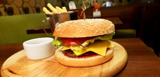 Burger Style stock photography