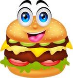 Burgerzeichentrickfilm-figuren stock abbildung