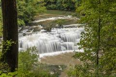 Burgess Middle Falls arkivfoto