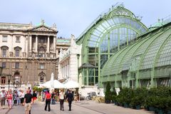 Burggarten, Vienna Royalty Free Stock Photography