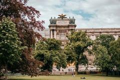 Burggarten Wiedeń ogród obrazy royalty free