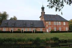 Burggraben in Husum stockfotografie