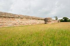 Burgh Castle Stock Photos