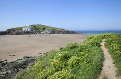 Burgh Island, Devon Stock Images