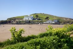 Burgh Island Royalty Free Stock Photos