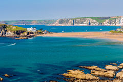 Burgh Island South Devon England royalty free stock photography