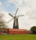 Burgh-Le-Marsh five sailed windmill. Stock Image