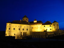 burghausen城堡 免版税库存图片