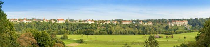 burghausen城堡 库存照片