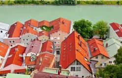 Burghausen Imagen de archivo libre de regalías
