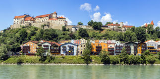 Burghausen, Bavaria, Germany. Royalty Free Stock Photo