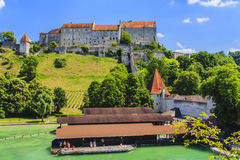 Burghausen, Bavaria, Germany. Stock Image
