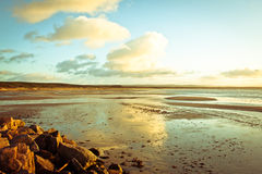 Burghead beach Royalty Free Stock Image