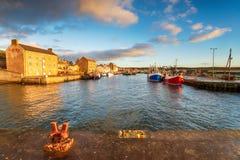 Burghead em Escócia imagem de stock