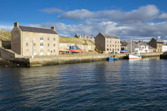 Burghead Harbour Royalty Free Stock Photo