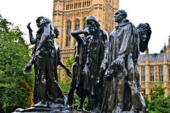 The Burghers of Calais Stock Image