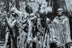 Burghers of Calais Royalty Free Stock Photography