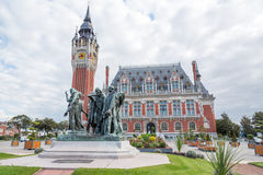 The Burghers of Calais (Les Bourgeois de Calais) Royalty Free Stock Images