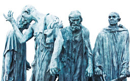 The Burghers of Calais Royalty Free Stock Photography