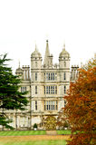 Burghley (Burleigh) house, Stamford, England Royalty Free Stock Photography
