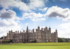 Burghley country house in Stamford, Lincolnshire, Stock Images