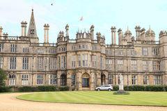 Burghley House of England Stock Images