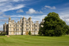 Burghley House in Stamford, England Royalty Free Stock Photos
