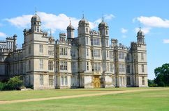 Burghley house stamford lincolnshire england. Burghley house stately home stamford lincolnshire england Stock Image