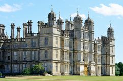 Burghley hus Stamford Lincolnshire Arkivbilder